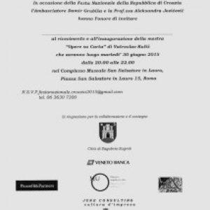 Roma Ambasciata Croata